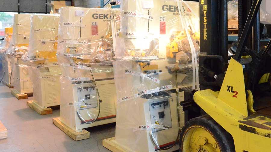 GEKA Ironworker Machines for sale in Canada - Neiman
